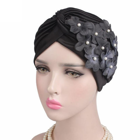 Women's Turban Head Wrap Cap Winter