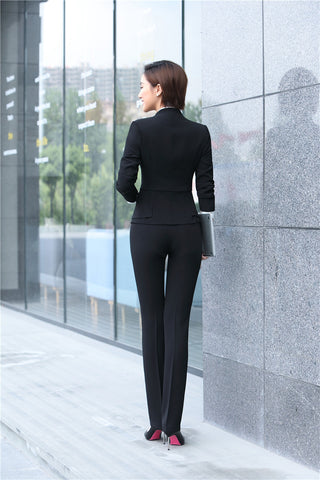 Women's Office Wear Set includes Jacket Pant Uniform