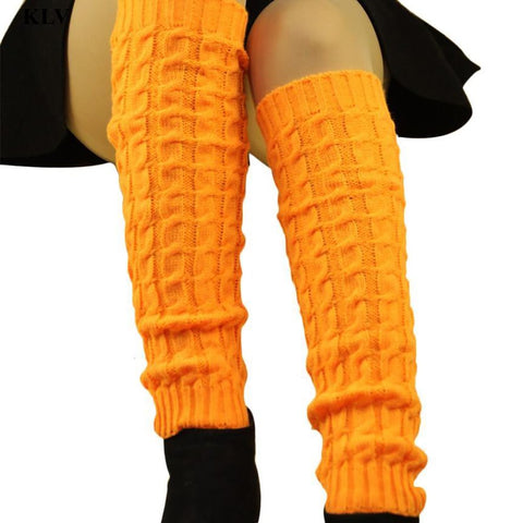 Women's Leg Warmers Hollow Out Knit Winter Protect