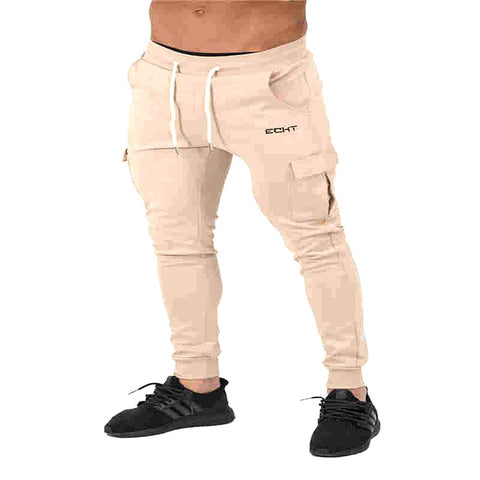 Men's Jogger Pants Cotton Male Bodybuilding Fitness Casual Trousers Sweatpants For Man Body Engineers M-XXL