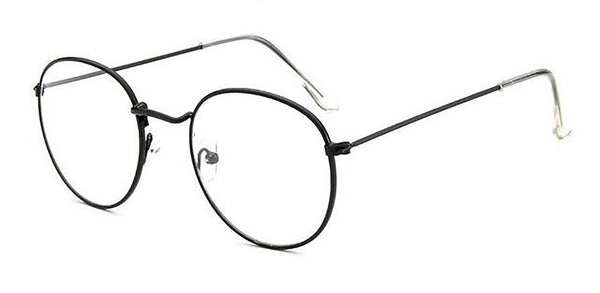 Unisex Adult's Reading Glasses Retro Metal Vintage Full Rim +100 +125 +150 +175 +200 +225 +250 +275 +300 +5