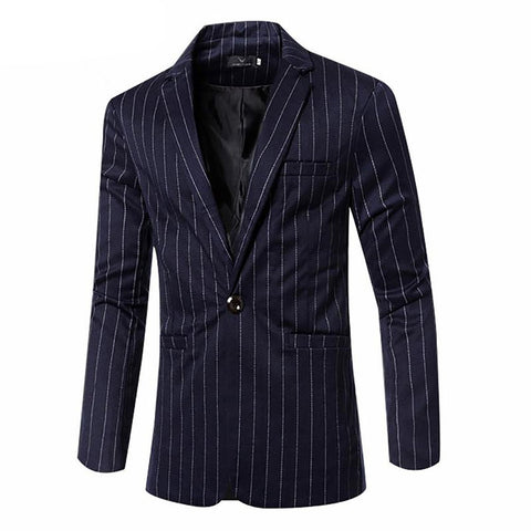 Men's Suits Jacket 2017 Hot Business Clothing Men Blazer Fashion Cotton Suit Slim Fit Masculine Casual Solid Colr Male
