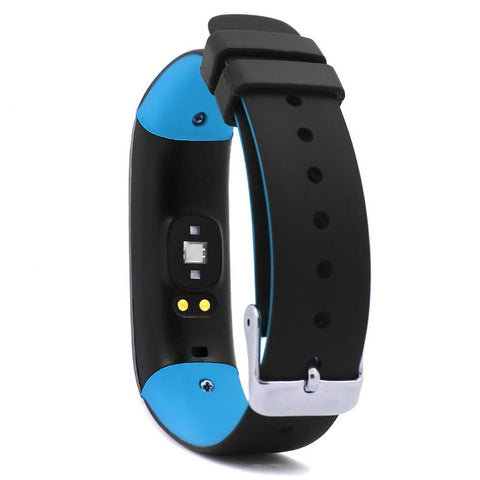 Unisex Smartband Watch Blood Preasure Bluetooth Heart Rate Monitor Fitness for Android IOS