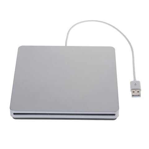 Brenner CD-RW Disk Drive Read Outside for Mac OS Or Other Laptop / Desktop Windows 2000, XP, Vista, 7, 8 USB 2.0 Cable