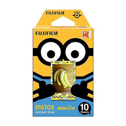 10 Sheets Minion 2017 Fuji Instax Film Fujifilm Mini 8 For 9 50s 7s 90 25 Share SP-1 SP-2 Instant Cameras