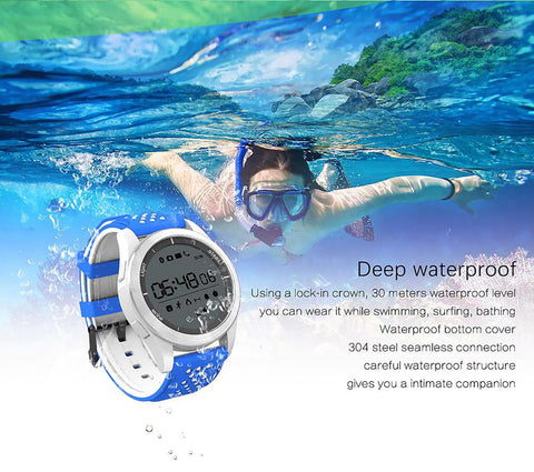 Unisex Adult's Smartwatch Waterproof Outdoor Mode Fitness Tracker Swimming for Android IOS