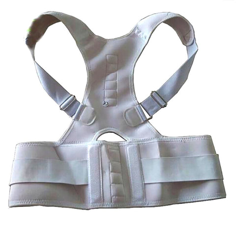 Unisex Adult's Spine Support Belt Posture Corrector Magnetic Neoprene Corset Brace Straightener Shoulder
