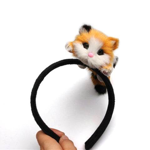 Women Kitten Headband for Halloween