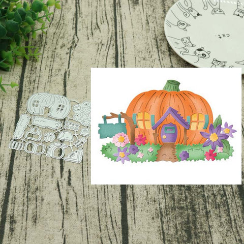 Halloween Pumpkin Metal Cutting Dies Stencils for DIY Scrapbooking Album Decor Embossing Hand-on Cut Die Paper Cards