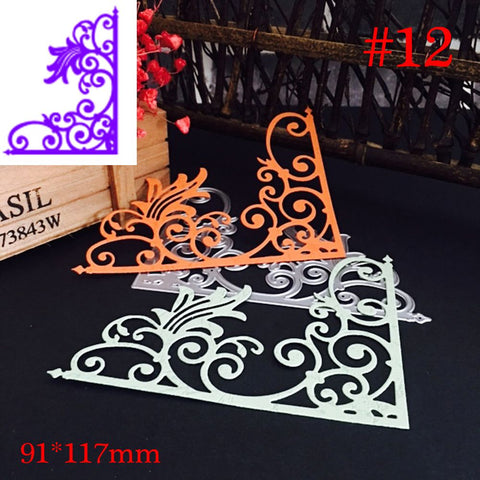 1PC Silver DIY Christmas Halloween Metal Cutting Dies Stencil Scrapbooking Photo Album Decor Embossing Cards Making Crafts