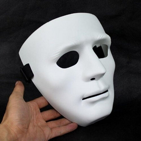 White Stylish Hip-hop Mask Dance Halloween Performances Ghost Almost Phantom Opera Party Masks