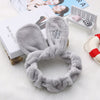 1PC Cute Fashion Women Girls Cartoon Cat Ears Soft Cotton Headband Hairband Party Halloween Headdress Hair Accessories