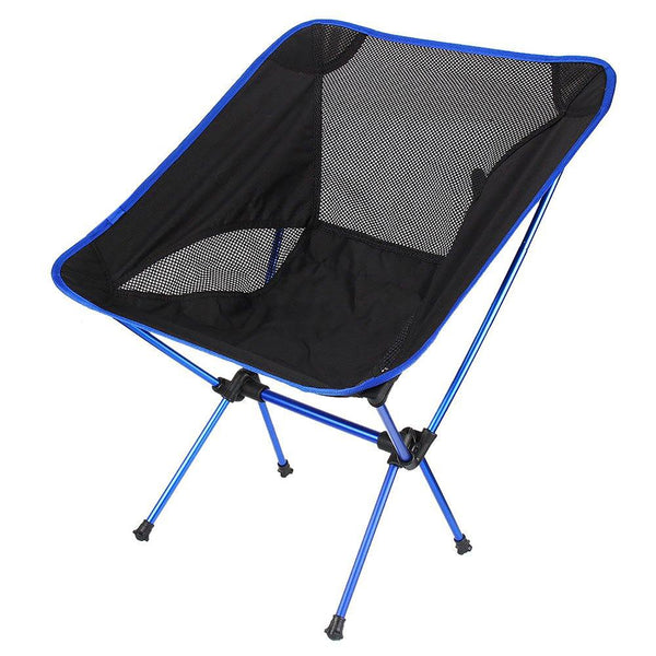 Super-light Breathable Backrest Folding Chair Portable Beach Sunbath Picnic Barbecue CampingFishing Stool Load Bearing 150 Kg