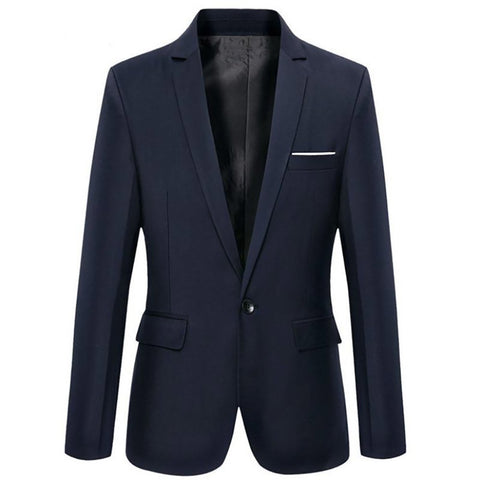 2016 New Arrival Brand Clothing Autumn Suit Blazer Men Fashion Slim Male Suits Casual Solid Color Masculine Size M-3XL