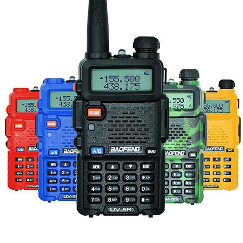 Walkie Talkie Transceiver UV5R 128CH 5W VHF&UHF Handheld Pro