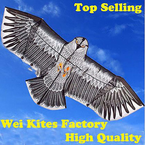 Eagle Kite Handle Line Outdoor fun Sports Flying Higher Big 1.6m