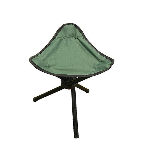 Tiangular Chair Stool Portable Foldable Practical for Outdoor Fishing Picnic Beach