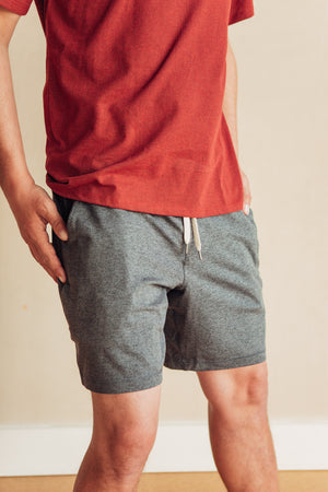 Ponto Short - Charcoal Heather