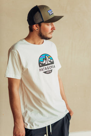 Fits Roy Scope Organic T Shirt - White