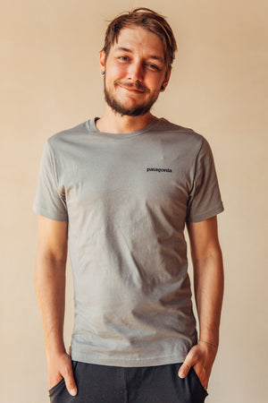 P-6 Logo Responsibili Tee - Gravel Heather