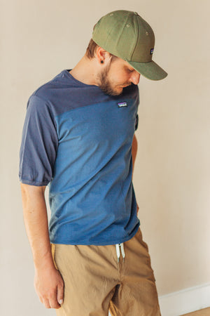 Men's Cotton in Converse Tee - Stone Blue