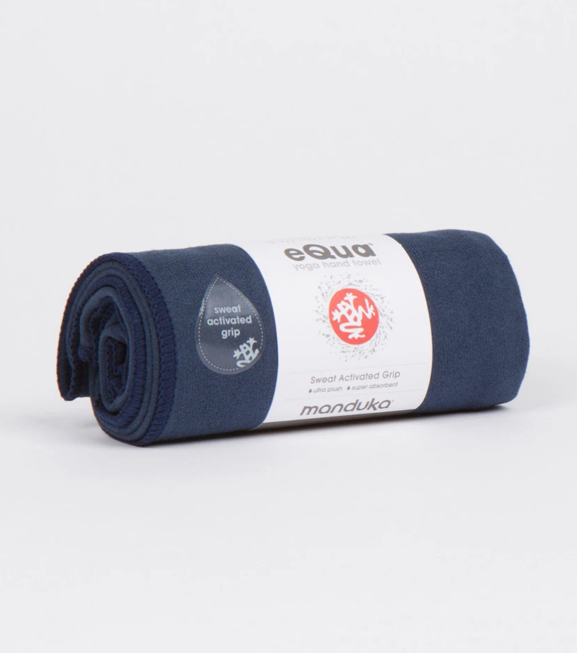 eQua Yoga Hand Towel - Midnight
