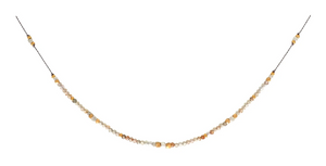 Journey Necklace - Zircon