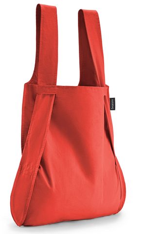 Bag and Backpack- Red