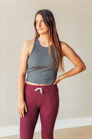 Performance Jogger - Cerise Heather
