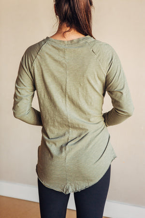 Arden tee - washed army