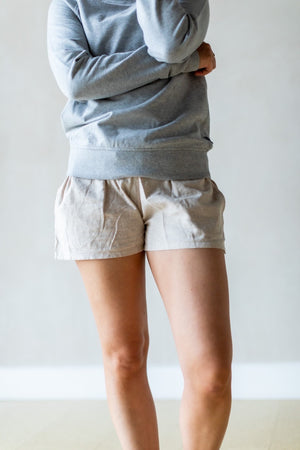 Island Hemp Baggies Shorts - Dark Pelican