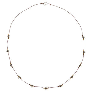 Trail Necklace - Pyrite