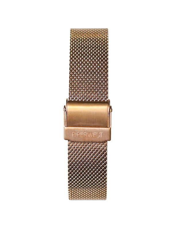 Mini Mesh Minimalist in Rose Gold