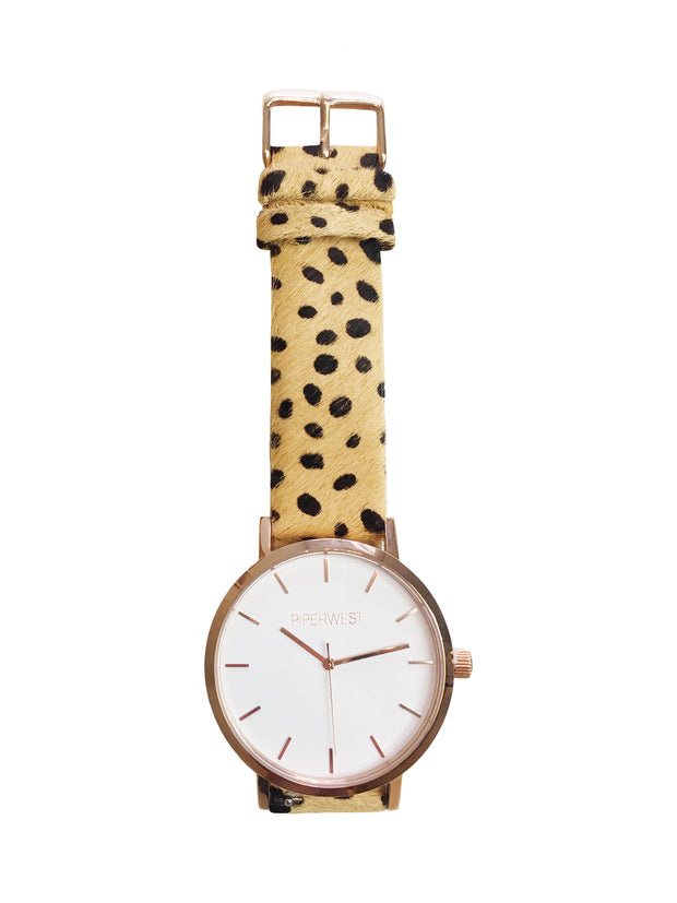 CHEETAH CLASSIC MINIMALIST WRIST WATCH