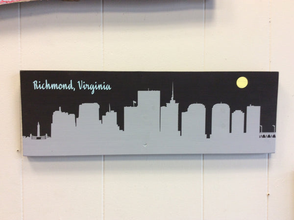 RVA City Wood Sign