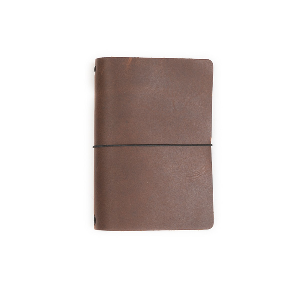 Expedition Leather Notebook with Dot-Grid Insert