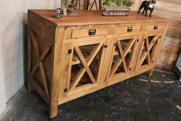 Handcrafted Farmhouse Buffet / Media Console