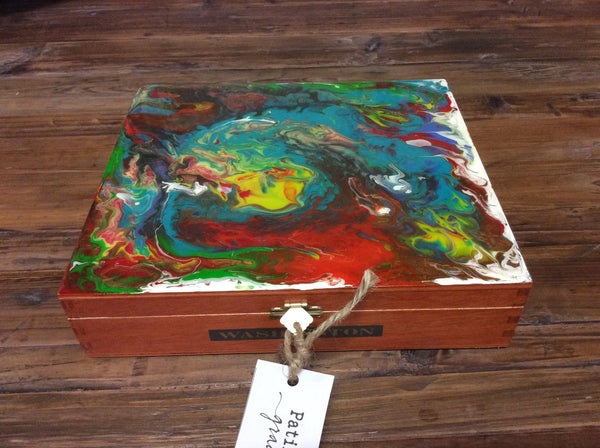 "Cigar Box Art ""Lost Island"""