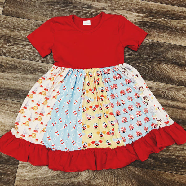 RTS Clown Panel Dress