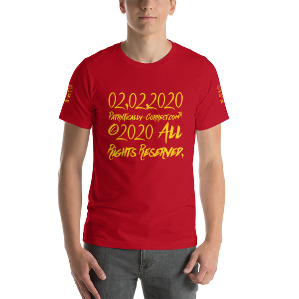 """02.02.2020"" Short-Sleeve Unisex T-Shirt"