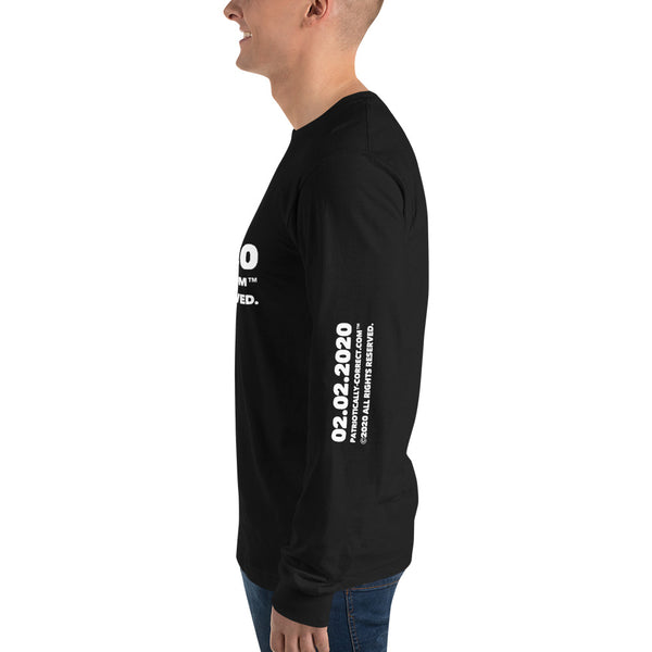 """02.02.2020"" Long sleeve t-shirt"