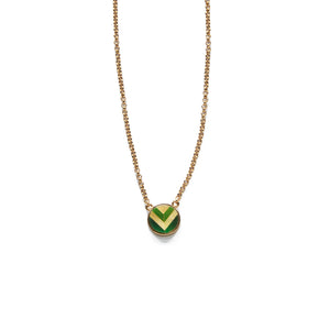 Carol Necklace - Green