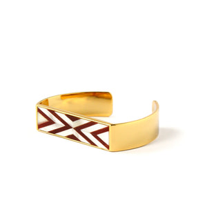 Sabrina Cuff - Double Chevron