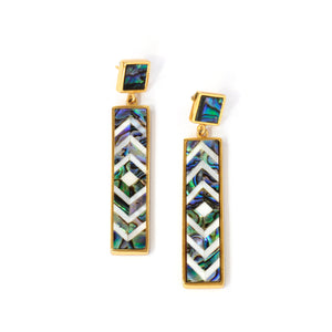 Sofia Earrings - Diamond