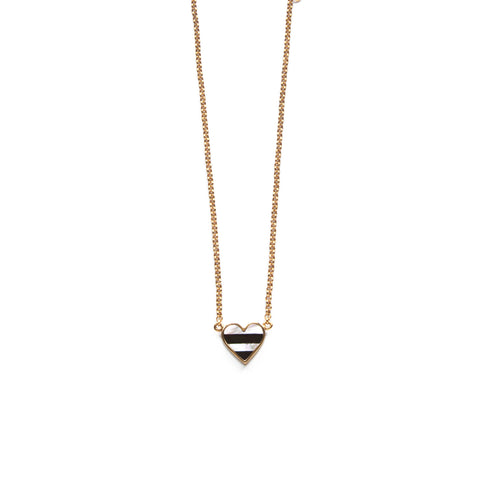 Sherry Necklace - Black & White