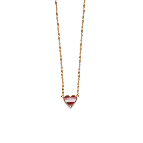 Sherry Necklace - Pink