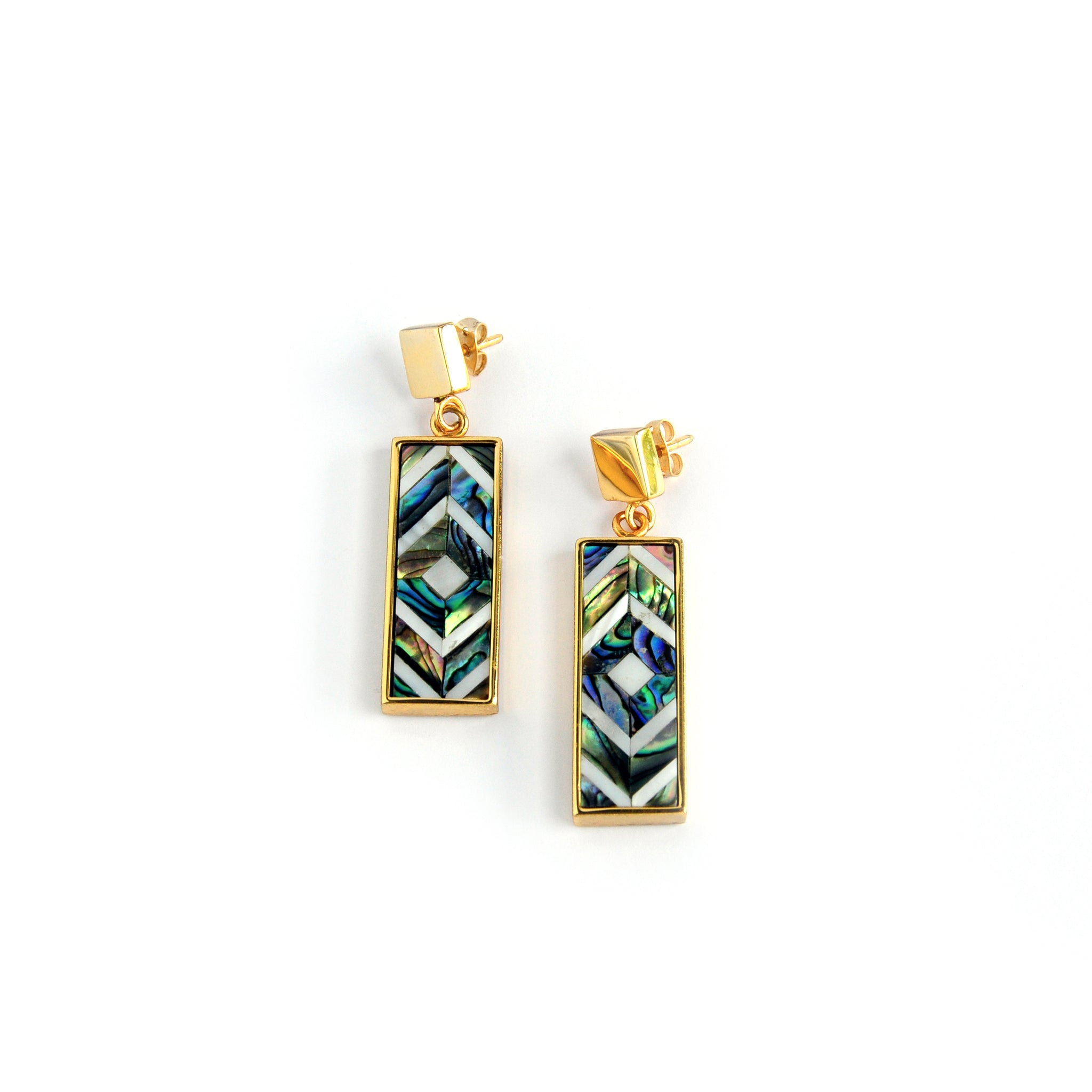 Sofia Mini Earrings - Diamond - Susanne Verallo