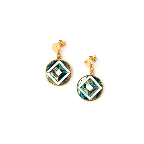 Vivian Mini Earrings - Diamond