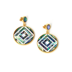 Vivian Earrings - Diamond