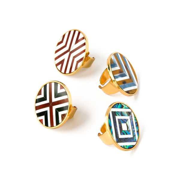 Sera Ring - Double Chevron - Susanne Verallo